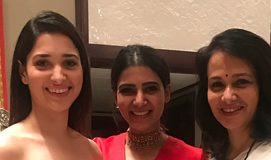 Red Hot Samantha and Tamannah with Amala Akkineni