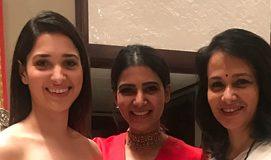 Red Hot Samantha and Tamannah with Amala Akkineni