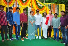 Sudheer Babu, Mehreen and Rizwan Entertainment Production No 2 Launch