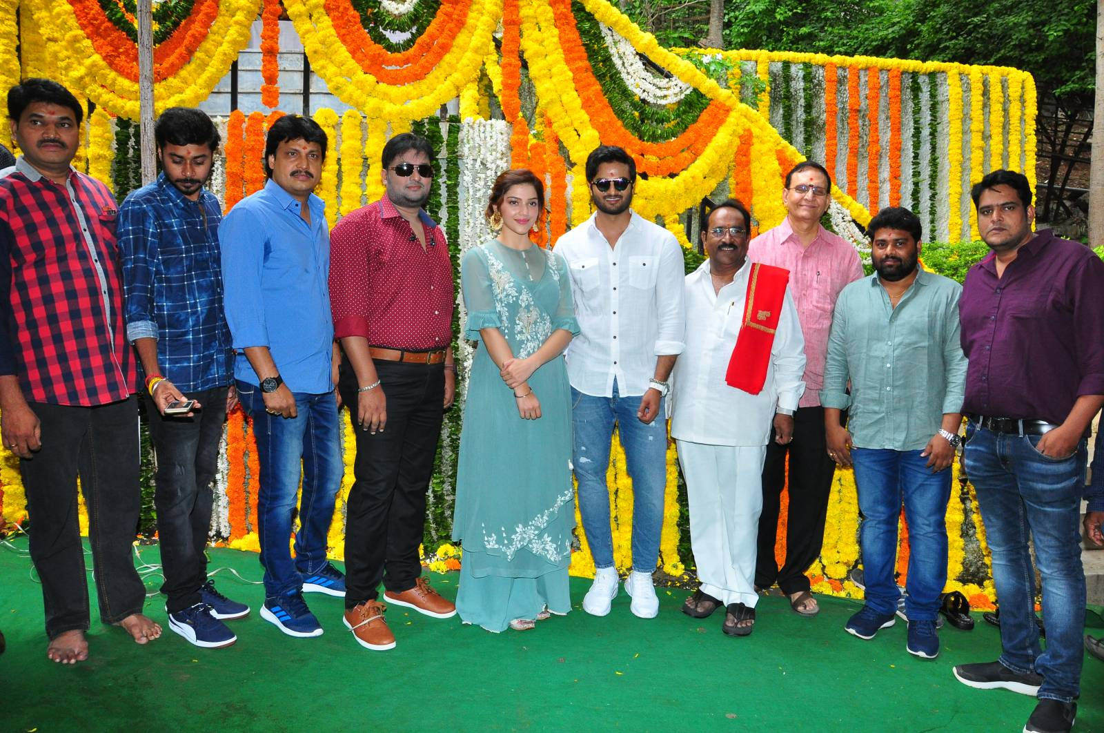 Sudheer Babu, Mehreen and Rizwan Entertainment Production No 2 Launch