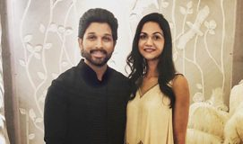 Allu Arjun and Sneha Reddy : Lovely Vibe