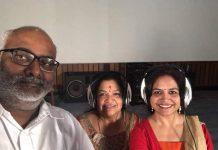 Keeravani brings Chithra and Sunitha for NTR