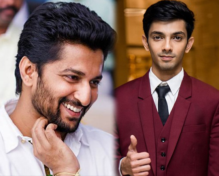 Nani welcomes Anirudh Ravichander