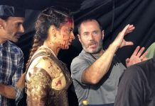 Prabhas actress gets bloodied