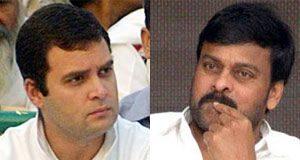 Rahul Gandhi turns Villain for Chiranjeevi