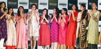 Taapsee Pannu unveils the Melange Festive Collection