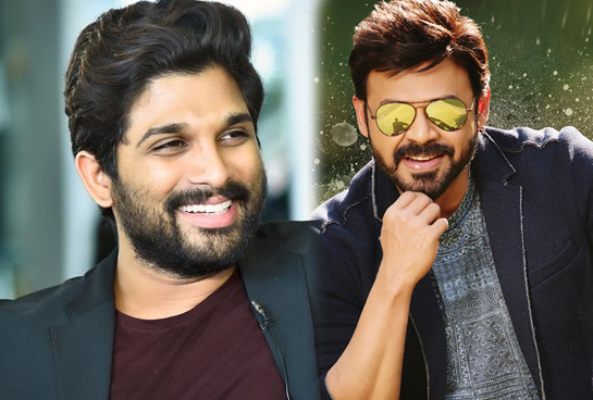 Will Allu Arjun team up with Venkatesh?