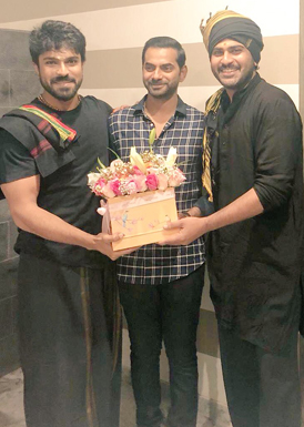 3 Bestie in 1 Frame: Ram Charan, Sharwanand, Vicky