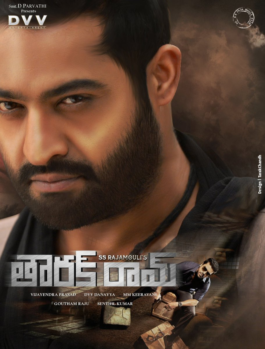 A Fan reveals Jr NTR, Ram Charan Look from Rajamouli RRR, and releases Poster