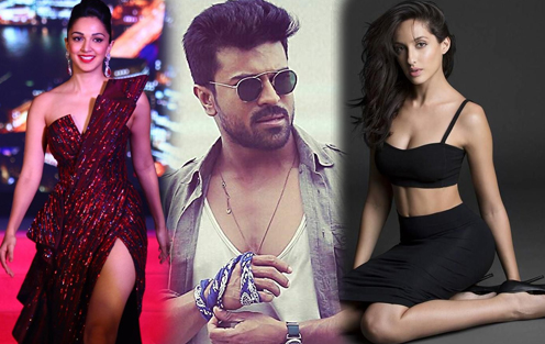 After Lust beauty now Baahubali girl for Ram Charan