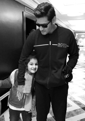 Handsome Guy with Sitara