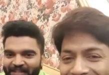 Kaushal Manda with Shameless Pradeep Machiraju