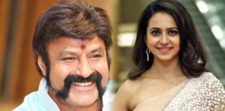 Rain Dance for Balakrishna and Rakul Preet
