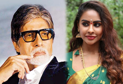 Sri Reddy fires on Amitabh Bachchan