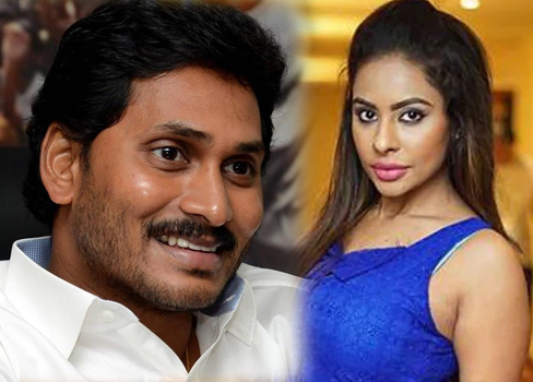 Sri Reddy post about Jagan Mohan Reddy