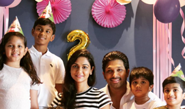 Allu Arha 2nd Birthday Celebrations in Goa