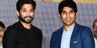 Allu Sirish promoting Allu Arjun