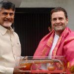 Chandrababu Naidu, Rahul Gandhi join hands to defeat BJP
