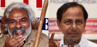 Gaddar to contest against KCR
