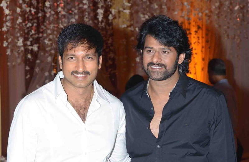 Gopichand confirms his film with Prabhas?