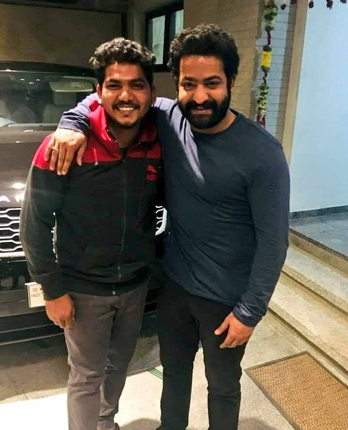 Is this Jr NTR New look for Rajamouli RRR