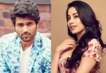 Janhvi Kapoor confirms a film with Vijay Deverakonda