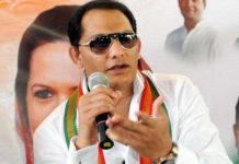 Mohammad Azharuddin is Telangana Congress Working President
