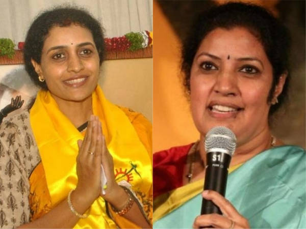 Purandeswari blessings to Nandamuri Suhasini