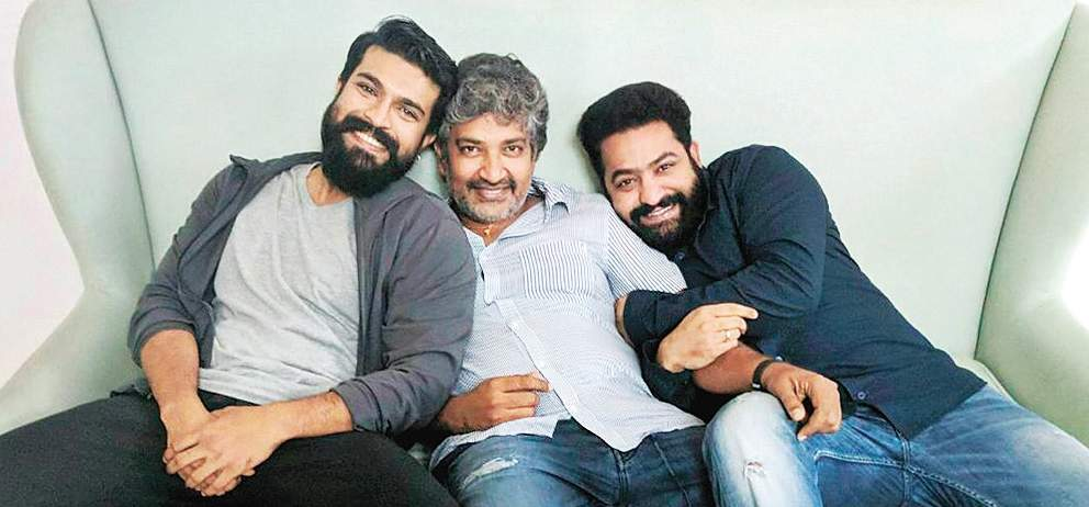 Rajamouli to take real test of Jr NTR and Ram Charan