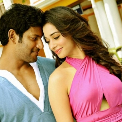 Tamannah back to romance him