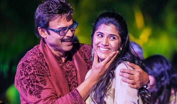 Venkatesh daughter ashritha marriage date fix