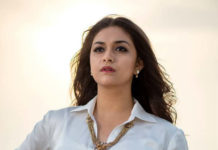 Keerthy Suresh welcomes Dil Raju with Golden hands