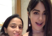 Adah Sharma with her Bathroom Partner