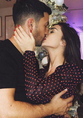 Amy Jackson lip lock with boyfriend George Panayiotou