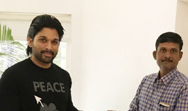 Another act of kindness by Allu Arjun