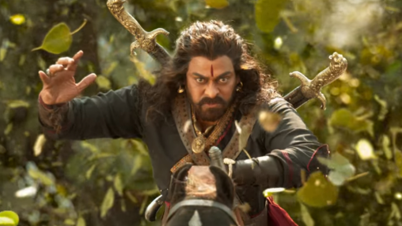 Chiranjeevi underwater action sequences in Sye Raa