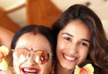 Disha Patani & Gemini Ganesan daughter in one frame
