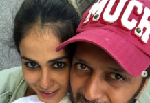 Genelia Deshmukh Birthday wish for Husband Riteish Deshmukh