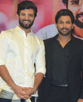 Is Allu Arjun scared of Vijay Deverakonda?