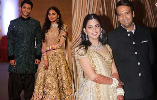 Isha Ambani vs Brahmani Gali wedding cost
