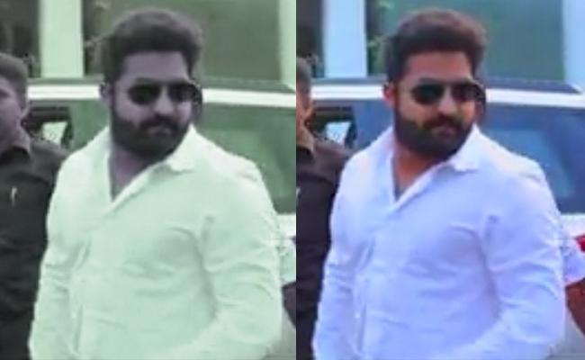 Jr Ntr New Look From Rajamouli Rrr