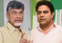 KTR strong warning to Chandrababu Naidu