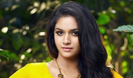 Keerthy Suresh returns advance