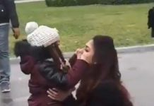 Kid pulls Nayantara Cheeks in Public