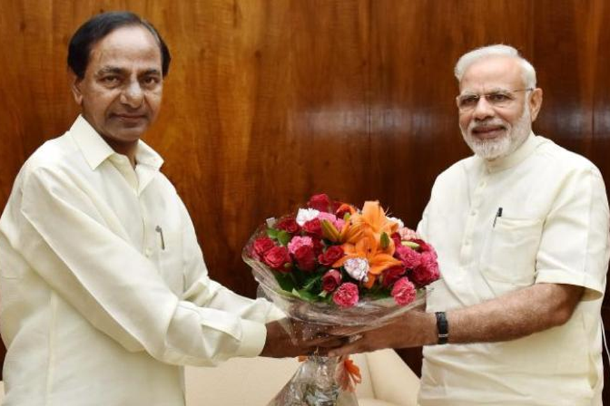 Modi Accepts defeats, congratulates KCR