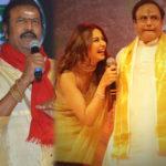 Mohan Babu and Rakul Preet Singh shock to Balakrishna
