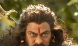 One more leak from Sye Raa Sets