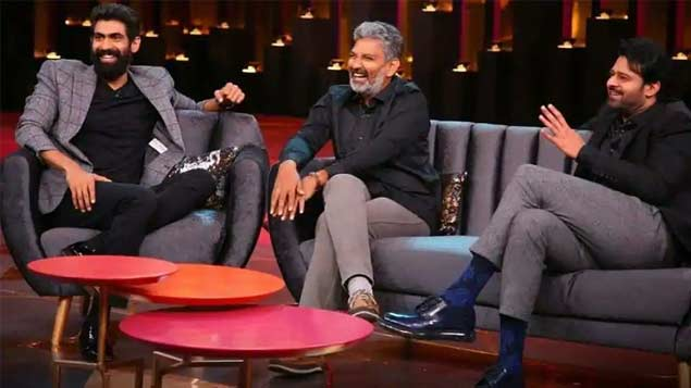 Rajamouli reveals the marriage detail of Prabhas and Rana Daggubati