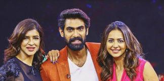 Rana Daggubati with two Lovely Ladies