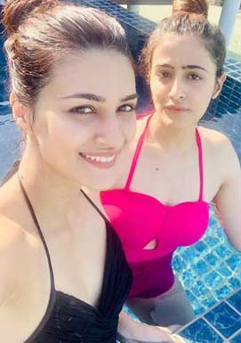 Sanon Sisters in Swimwear